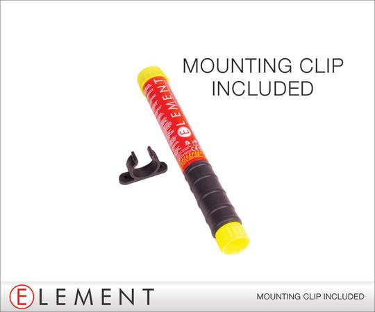 Mounting clip included
